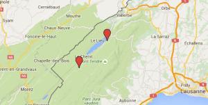 Google maps ess-le brassus